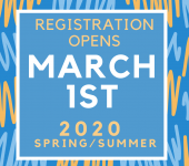 2020 Spring/Summer Program Registration
