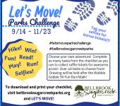 Let's Move! Parks Challenge