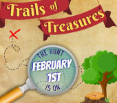NEW!  Trails of Treasures
