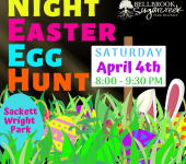 Night Easter Egg Hunt and Campfire - CANCELLED
