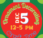Ornament Decorating Craft Time